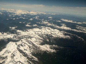 Rockies at 35000 feet