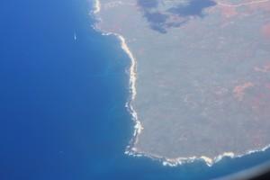 Maui at 30000 feet