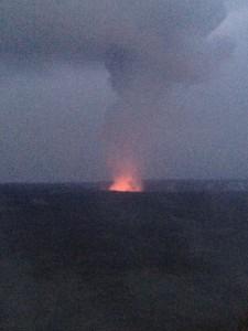 Volcano National Park at Night